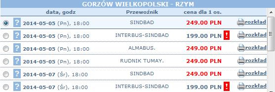 autokary z gorzowa wielkopolskiego do rzymu width=