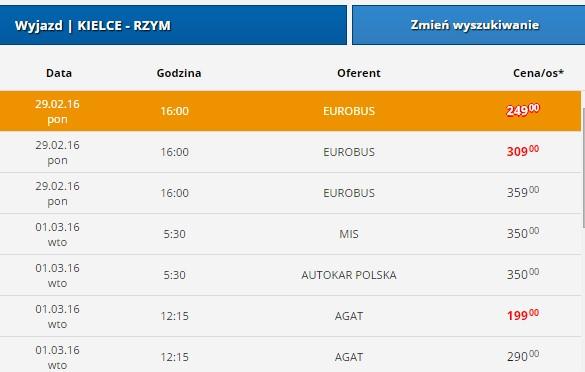 kielce-rzym-euroticket