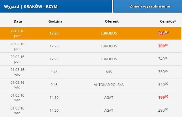 krakow-rzym-euroticket